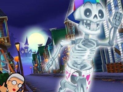 Angry Gran Run - Halloween Village