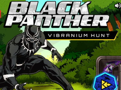 Black Panther Vibranium Hunt