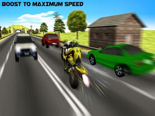 Highway Rider Motorcycle Racer 3D
