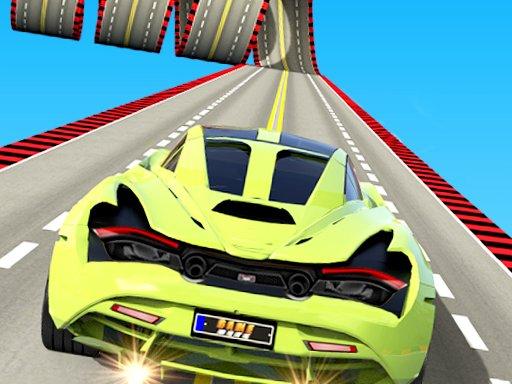 impossible car stunt mega ramp 3d