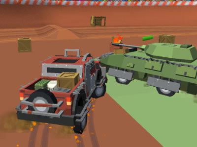 Pixel Car Crash Demolition