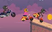 Uphill Motocross Race