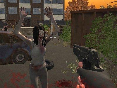 Zombie vs Janitor